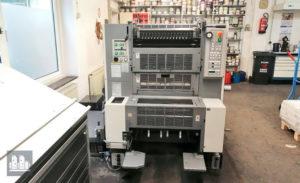 máquina offset de impressão Ryobi 522 HE (ano 2007)