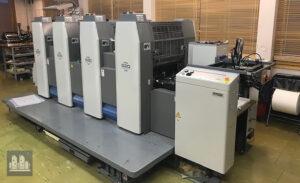печатная машина Ryobi 524 GX+NP (2006 год)