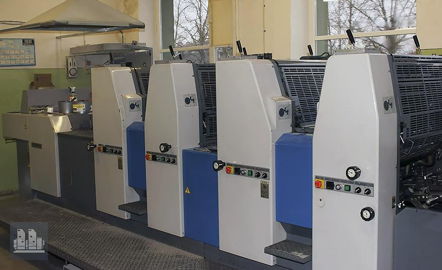 печатная машина Ryobi 524 HX (1998 год)