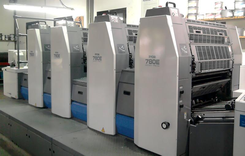 печатная машина Ryobi 784E