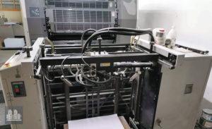 máquina de impresión Ryobi 784E (ano 2005)