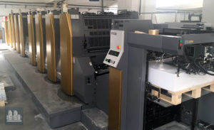 used 8-colors offset press Ryobi 928P 4-A (age 2015)