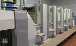 Sakurai Oliver 575 SDw - 5 ألوان آلة الطباعة