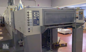machine d'impression offset Sakurai OL575SDw (année 2007)