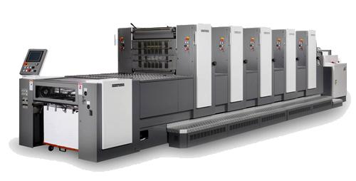 печатная машина Shinohara 52V low-pile
